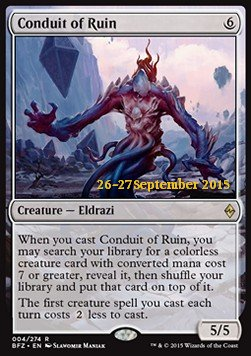 Conduit of Ruin, Battle for Zendikar: Promos