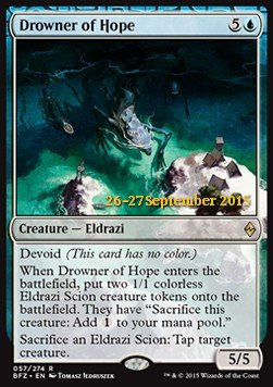 Drowner of Hope, Battle for Zendikar Promos