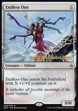 Endless One, Battle for Zendikar Promos