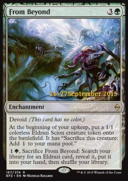 From Beyond, Battle for Zendikar: Promos