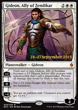 Gideon, Ally of Zendikar, Battle for Zendikar Promos
