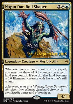 Noyan Dar, Roil Shaper, Battle for Zendikar Promos