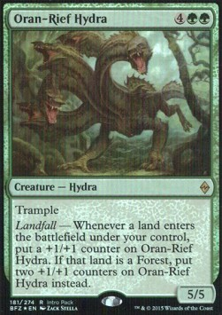 Oran-Rief Hydra, Battle for Zendikar: Promos