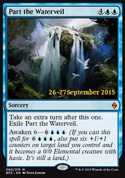 Part the Waterveil, Battle for Zendikar Promos