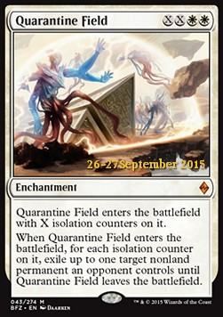 Quarantine Field, Battle for Zendikar Promos