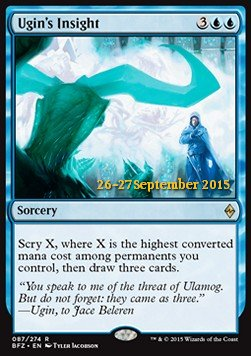 Ugin's Insight, Battle for Zendikar Promos