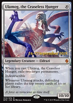 Ulamog, the Ceaseless Hunger, Battle for Zendikar Promos