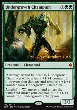 Undergrowth Champion, Battle for Zendikar: Promos