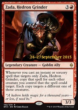 Zada, Hedron Grinder, Battle for Zendikar Promos