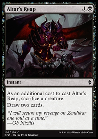 Altar's Reap, Battle for Zendikar