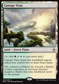 Canopy Vista, Battle for Zendikar
