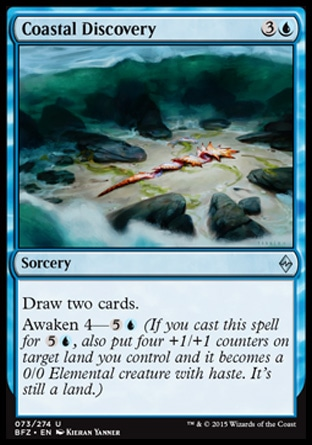 Coastal Discovery, Battle for Zendikar
