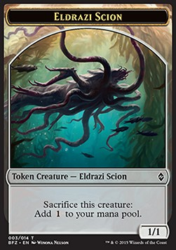 Eldrazi Scion Token, Battle for Zendikar