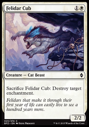 Felidar Cub, Battle for Zendikar