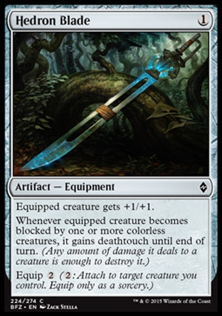 Hedron Blade, Battle for Zendikar