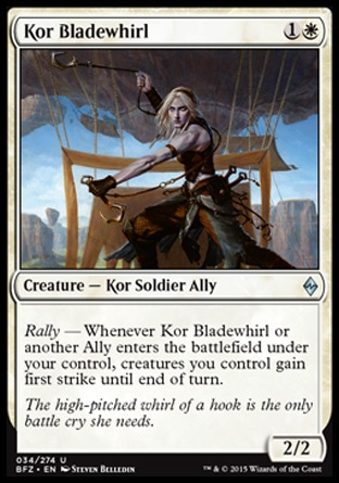 Kor Bladewhirl, Battle for Zendikar