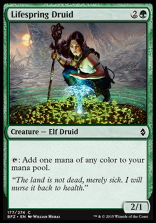 Lifespring Druid, Battle for Zendikar