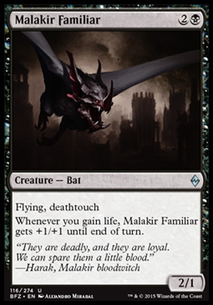 Malakir Familiar, Battle for Zendikar