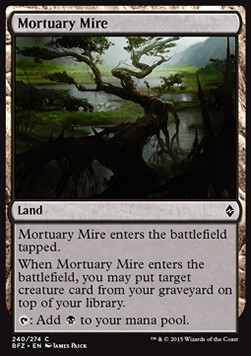 Mortuary Mire, Battle for Zendikar