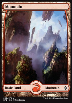 Mountain, Battle for Zendikar