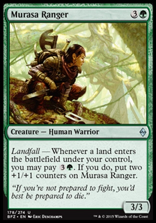 Murasa Ranger, Battle for Zendikar