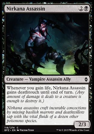Nirkana Assassin, Battle for Zendikar