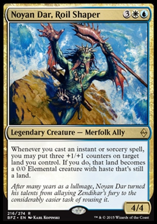 Noyan Dar, Roil Shaper, Battle for Zendikar