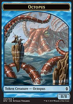 Octopus Token, Battle for Zendikar