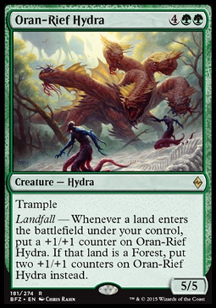 Oran-Rief Hydra, Battle for Zendikar
