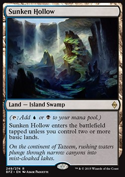 Sunken Hollow, Battle for Zendikar