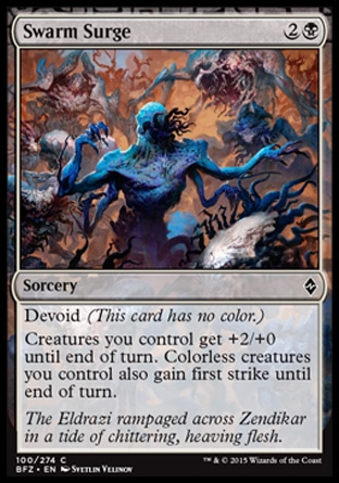 Swarm Surge, Battle for Zendikar