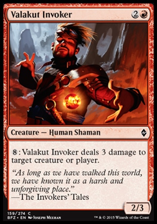 Valakut Invoker, Battle for Zendikar