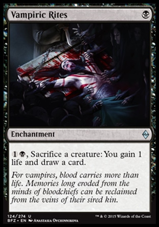 Vampiric Rites, Battle for Zendikar