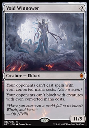 Void Winnower, Battle for Zendikar