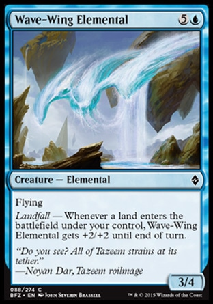 Wave-Wing Elemental, Battle for Zendikar