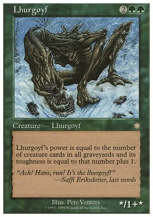 Lhurgoyf, Battle Royale