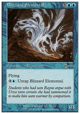 Blizzard Elemental, Beatdown