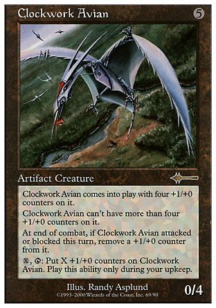 Clockwork Avian, Beatdown