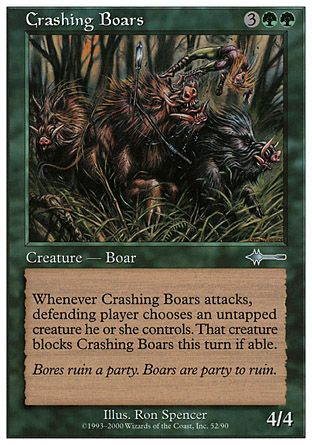 Crashing Boars, Beatdown