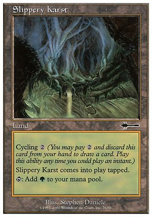Slippery Karst, Beatdown