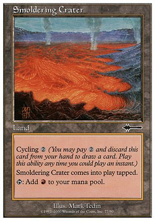 Smoldering Crater, Beatdown