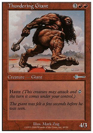 Thundering Giant, Beatdown