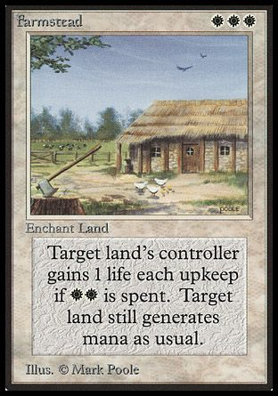 Farmstead, Beta
