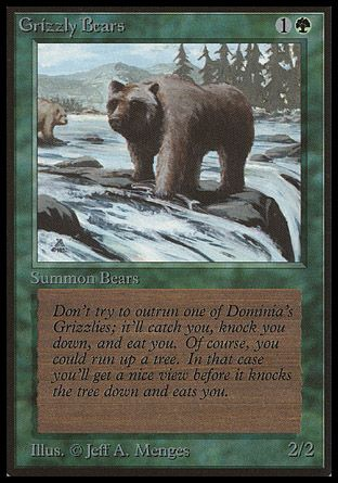 Grizzly Bears, Beta