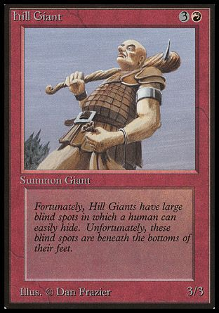 Hill Giant, Beta