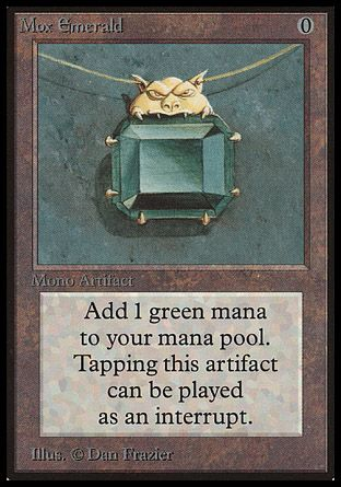 Mox Emerald, Beta