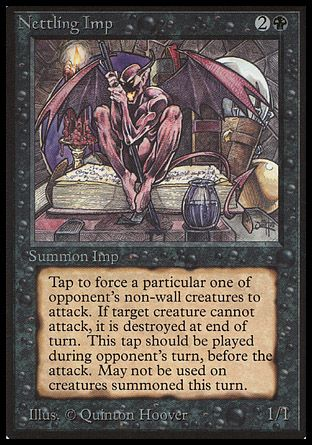 Nettling Imp, Beta