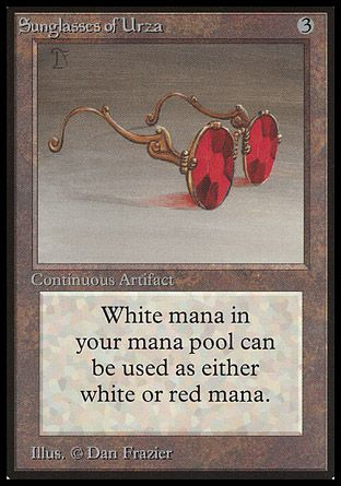 Sunglasses of Urza, Beta