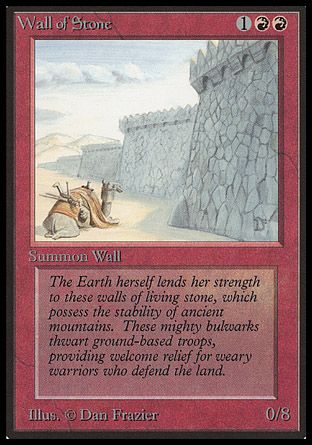 Wall of Stone, Beta