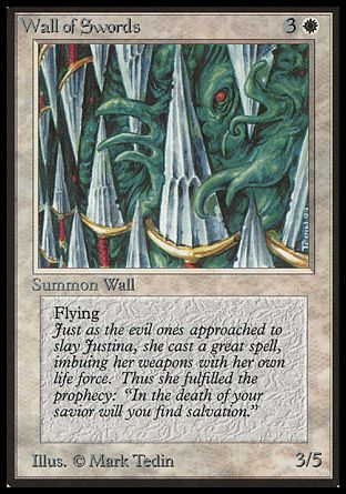 Wall of Swords, Beta
